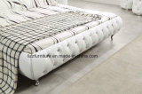 Король Размер Кровать роскошной мебели спальни самомоднейший кожаный