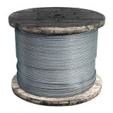 7X19 /de alambre de acero inoxidable galvanizado cuerda