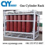 Cremagliera in mare aperto del cilindro dell'argon dell'azoto dell'ossigeno