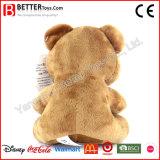 Jouet mou de peluche d'ours de nounours de cadeau de peluche pour des gosses/enfants