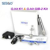 Le kit de démarrage Seego de crayon lecteur de Vape d'aperçu gratuit G-A heurté K1 Clearomizer pour le liquide d'E