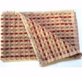中国の工場OEMの農産物のカスタム赤いしまのある綿のテリーの台所タオル