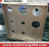 サービスを公言する製造の4mmアルミニウム壁のクラッディング