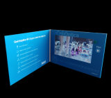 Pubblicità dell'opuscolo del video dello schermo dell'affissione a cristalli liquidi