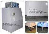 Construído no escaninho de armazenamento do gelo da unidade com as portas inclinadas para o uso do posto de gasolina