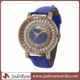Regarder la mode en alliage de regarder le nouveau style montre-bracelet cuir Band Women Watch