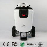 La course facile pliant le scooter électrique de mobilité, le scooter électrique de ville, scooter comme bagage, façonnent le scooter électrique