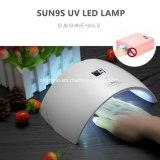 24Вт Светодиодные лампы ногтей/УФ лампа для ногтей Design/УФ лак для ногтей светодиодный светильник