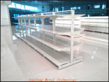 Полка супермаркета металла для сбывания
