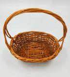 새로운 디자인 손잡이 (BC-WB15)를 가진 Handmade 자연적인 버드나무 바구니