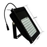 56 LED IP65는 태양 플러드 빛 원격 제어 RGBW 조경 야드 정원 장식적인 투광램프를 방수 처리한다