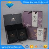 Contenitore di regalo stampato abitudine del tè del documento del cartone di figura del libro