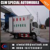 Китай Лучш Холодильник Van Тележка, LHD или Rhd опционн, холодильник Van перевозки мяса для горячего сбывания