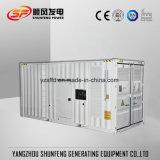 910квт тип контейнера Silent Mtu электроэнергии генераторная установка дизельного двигателя