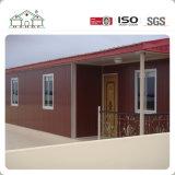 Casa minúscula casera prefabricada económica del chalet del panel de emparedado