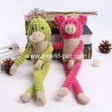 dier van de Pluche van het Product van de geel-Eend van het roze-Varken van 44cm het Grote Stuk speelgoed Gevulde