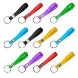 Anello chiave del Wristband del silicone di modo per il regalo promozionale (YB-PK-12)