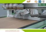 새로운 디자인 중국 Xc400 압축 공기를 넣은 공구 변경 목제 CNC 대패