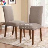 Comercio al por mayor de respaldo alto real utilizado imitación madera sillas de comedor Hly-Iw07