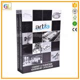 Alta calidad de encargo barata que colorea la impresión del libro de cubierta suave