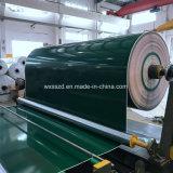 Courroie lustrée verte de PVC Converyor de prix usine de la Chine