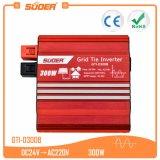 Inverseur de système d'alimentation solaire d'inverseur de Suoer 300W 24V 220V MPPT (GTI-D300B)