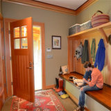Porte en bois de rupteur d'allumage intérieur contemporain, prix de porte