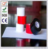 """El tubo de goma Envolver cinta con el respaldo de PVC, de 10 mil de grosor, longitud de 100' x 2"""" width, blanco de buena calidad"""