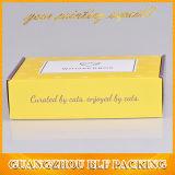 Напечатанный таможней Corrugated упаковывать бумажной коробки почтоотправителя