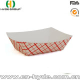 Bandeja del papel de empaquetado al por mayor/bandeja de papel del alimento