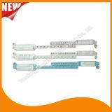 Bracelets d'identification de PVC de carte de garniture intérieure de bracelet de mère et de bébé d'hôpital (6120A7)