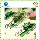 2018 que la insignia de encargo de la venta caliente imprimió el PVC impermeable auto-adhesivo hacia fuera etiquetan las etiquetas engomadas de la base de coche (jp-s238)