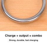 cabo de dados USB flexível de alta qualidade para o tipo C Wholesales