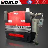 Freio hidráulico da imprensa do CNC do metal de folha (WE67K)