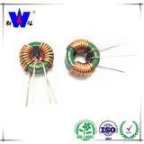 Alambre de cobre de la inductancia del inductor toroidal magnético de Powerl