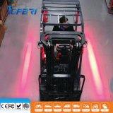 9-80V 30 W LED de aviso de la zona roja de la luz de la seguridad de la carretilla elevadora