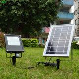 15W imperméabilisent la lumière d'inondation actionnée solaire extérieure de jardin de détecteur de mouvement des lampes 120 DEL