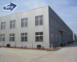 現代プレハブの低価格の鉄骨構造の小屋の建物の工場フレームの研修会