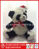 Het Stuk speelgoed van de pluche van Zachte Panda voor Kerstmis