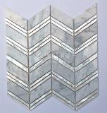 Новая мать конструкции 2017 плитки мозаики 300*300mm мрамора смешивания раковины перлы