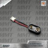 ABS 9V Batterie-Verschluss-Batteriehalterung mit Verbinder