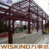 El fabricante diseña directo el edificio prefabricado marco ligero de la estructura de acero