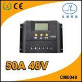 50A 48Vの太陽エネルギーLCDの表示の太陽情報処理機能をもったコントローラ