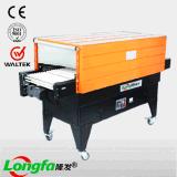 Machine d'emballage de tunnel de rétrécissement de la chaleur de gicleur de prix usine