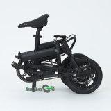 Mini E vélo se pliant noir de la couleur F1