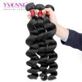 Estensione brasiliana superiore dei capelli umani del tessuto dei capelli del grado 8A dei capelli di Yvonne