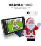 Jugador de música recargable dual portable al por mayor de la Navidad del locutor del USB Bluetooth de la fábrica