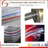 Ligne renforcée d'extrusion de tuyau de fil d'acier de PVC
