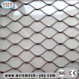 Engranzamento tecido do cabo do aço inoxidável