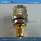 Adaptador de conector RF UHF (SL16) Conector macho a conector macho SMA